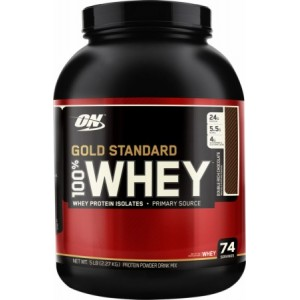 OPTIMUM NUTRITION GOLD STANDARD 100% WHEY - 2270 g