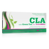 Olimp CLA - Green Tea - L-carnitine - 60 kaps