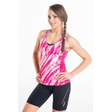 Bokserka Tank Top Fuchsia Sounds - DB-21