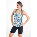Bokserka Tank Top Blue Garden - DB-22