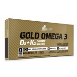 OLIMP GOLD OMEGA 3 D3 + K2 SPORT EDITION - 60 caps